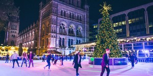 Natural History Museum's Ice Rink Opens In October... But This Is Its Final Year
