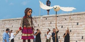 This 3.5-Metre Tall Refugee Puppet Is Coming To London This Month