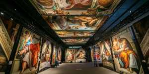 The Sistine Chapel Comes To London In This Immersive Exhibition