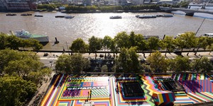 A Razzle Dazzle Makeover For Temple Station's Roof Garden