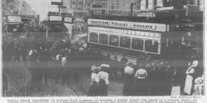 When A Runaway Tram Crashed Into A Funeral Procession In Archway