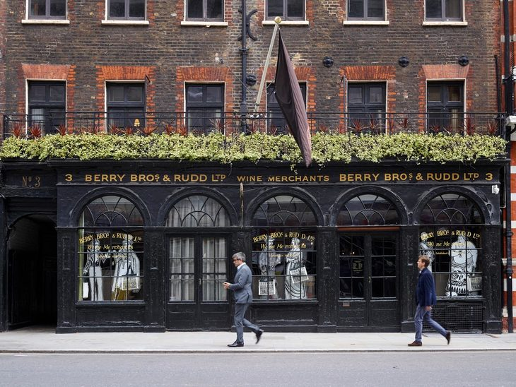 berry bros - london's oldest wine and spirits store