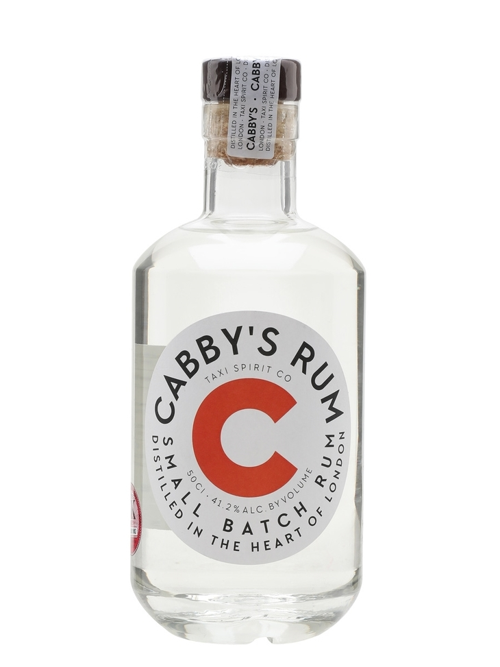 A bottle of Cabbys rum