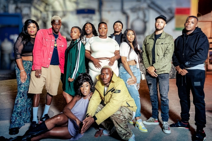 The cast of Peckham's Finest